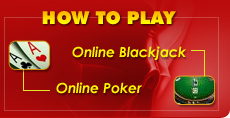 How to Play Online Poker and Online Blackjack, Betting for Beginners
